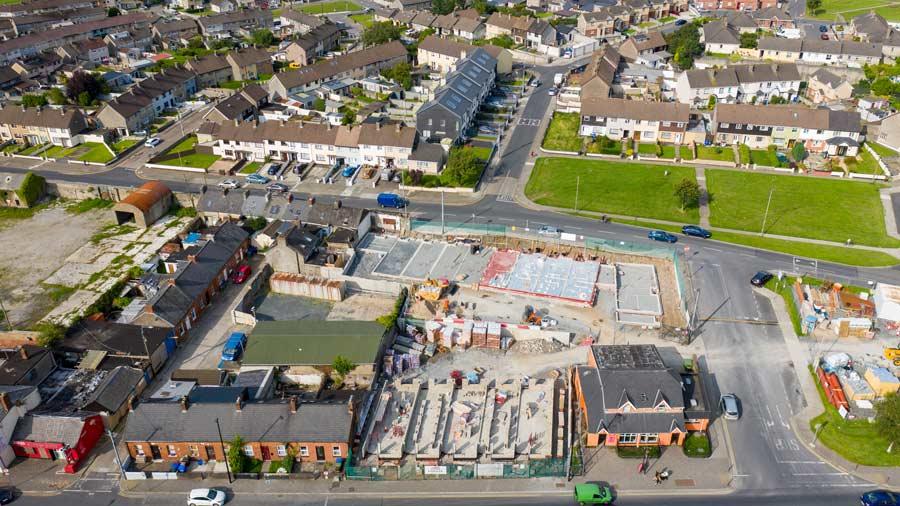 Mulgrave Street Housing Development in Limerick