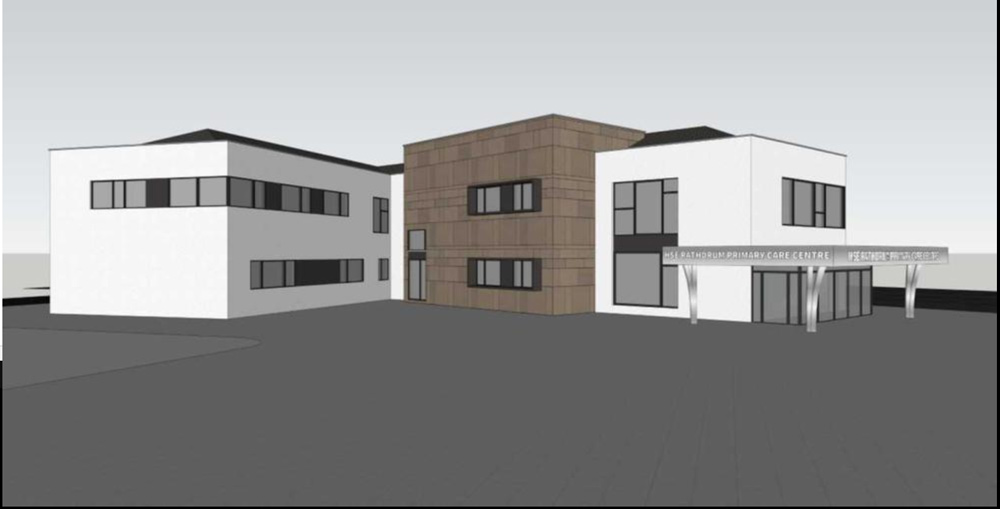 Graphic of Rathdrum Primary Care Project