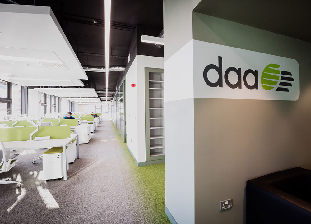 DAA Shared Services Office Fit-Out, National Technology Park, Limerick