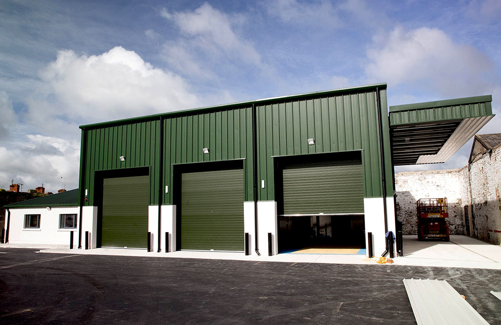 • Sarsfield Barracks Transport Workshop, Limerick